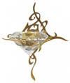 Купить светильник кристалл Kihla для турецкой бани хамам