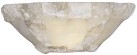Бра для хамама из натурального камня оникса