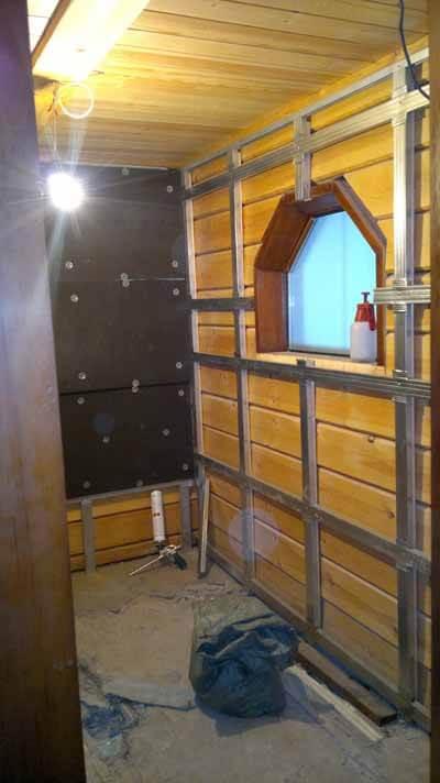 Строительство конструкции турецкой бани, хамама в деревянном доме