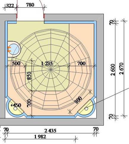 Проектирование, строительство турецкой бани хамам под ключ