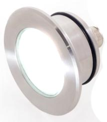 Светодиодный встраиваемый светильник из нержавейки для бань