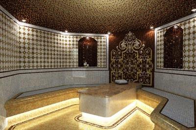 Дизайн проект турецкой бани, хамам
