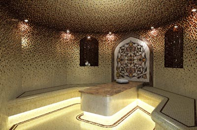 Визуализация, строительство с нуля турецкой бани