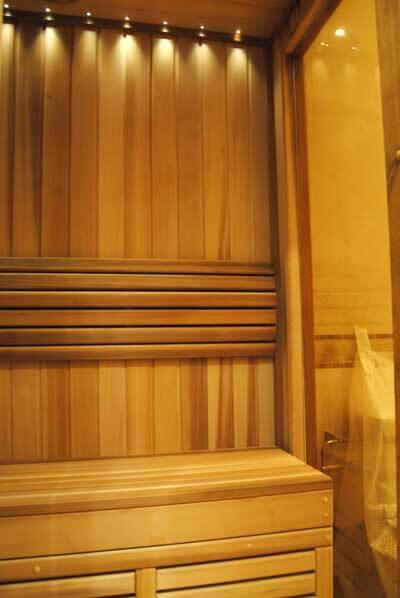 Финская баня, сауна строительство в квартире