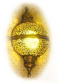 Мароканский светильник для турецкой бани хамам