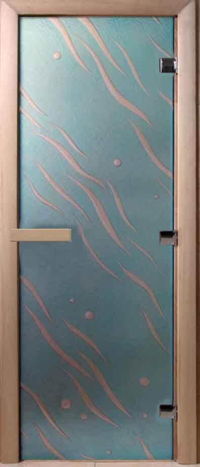 Стеклянные двери для саун DoorWood АРТ СЕРИЯ
