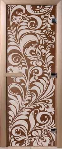 DoorWood двери для саун с рисунком