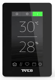 Пульт управления Tylo Elite - сенсорное управление, ж/к дисплей 4.5 дюйма, возможно удалённое управление через Wi-Fi к смартфону, компьютеру (для Android , IOS)