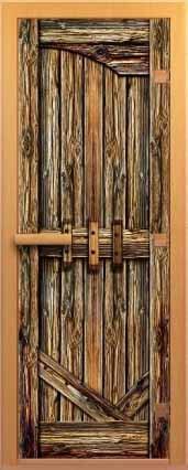 Дверь для сауны ALDO С АРТ СЕРИЯ