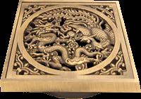 Решетка для трапа под бронзу с драконом