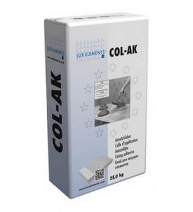COL-AK клей для панелей при строительстве турецкой бани
