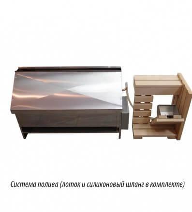 Электрическая печь для скрытой установки под полоками финской сауны