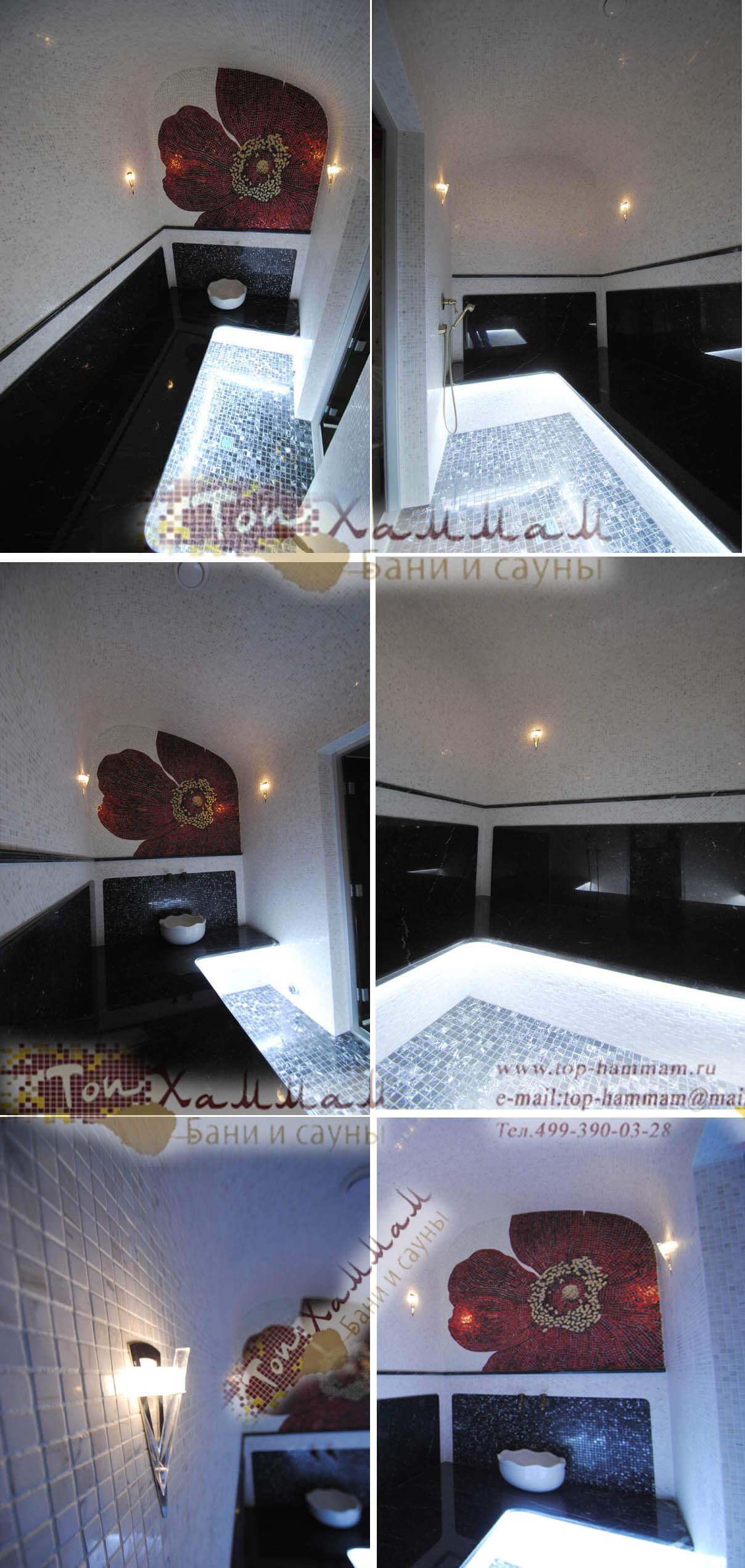 Строительство турецких бань хамам в современном стиле