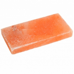 Плитка из соли Розовая Шлифованная 20х10х2,5 см